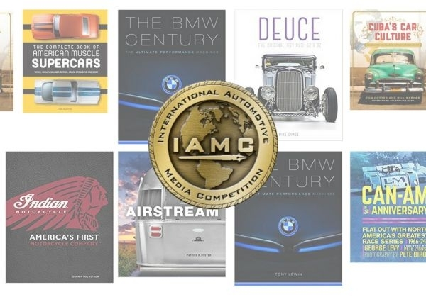 Seven Motorbooks' Titles win at the International Automotive Media Awards