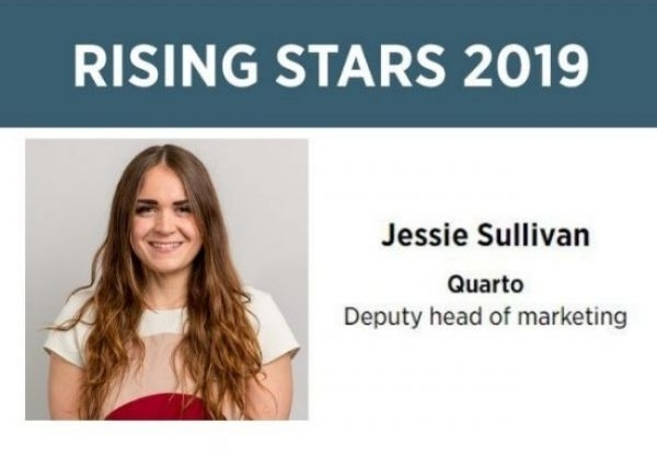 Quart's Jessie Sullivan is a Bookseller Rising Star