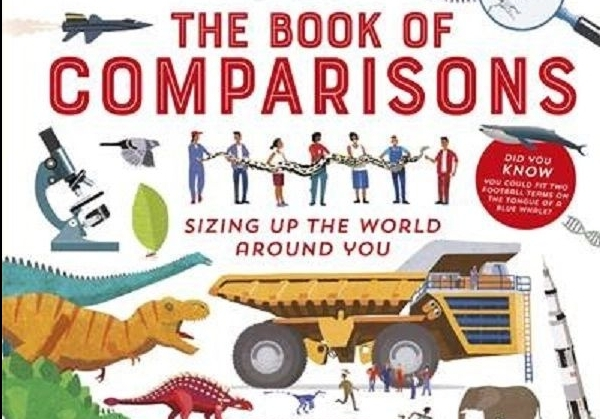 The Book of Comparisons wins Sainsbury's Book Award!