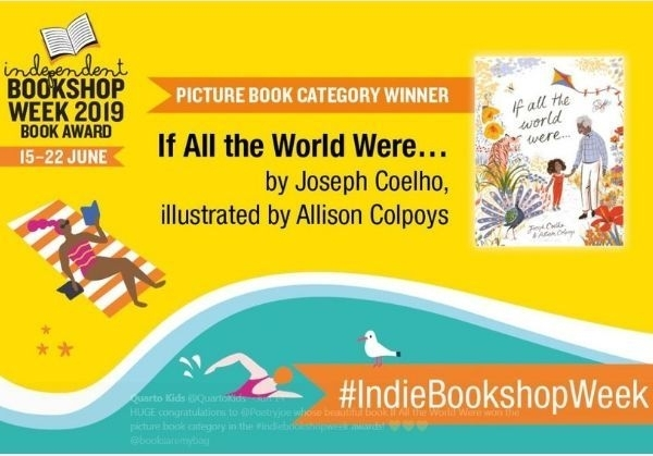 If All the World Were wins Independent Bookshop Week Book Award 2019 for picture book