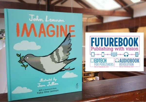 IMAGINE makes it to the Bookseller's Futurebook Awards shortlist for Campaign of the Year