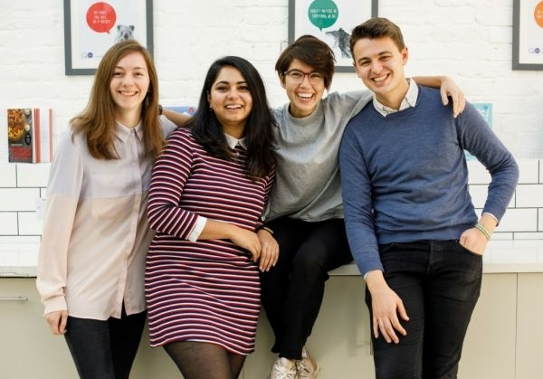 How does The Quarto Group find and attract young publishing talent?